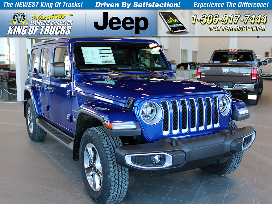Jeep Wrangler Sahara For Sale >> New 2019 Jeep Wrangler Unlimited Sahara For Sale In Watrous Sk
