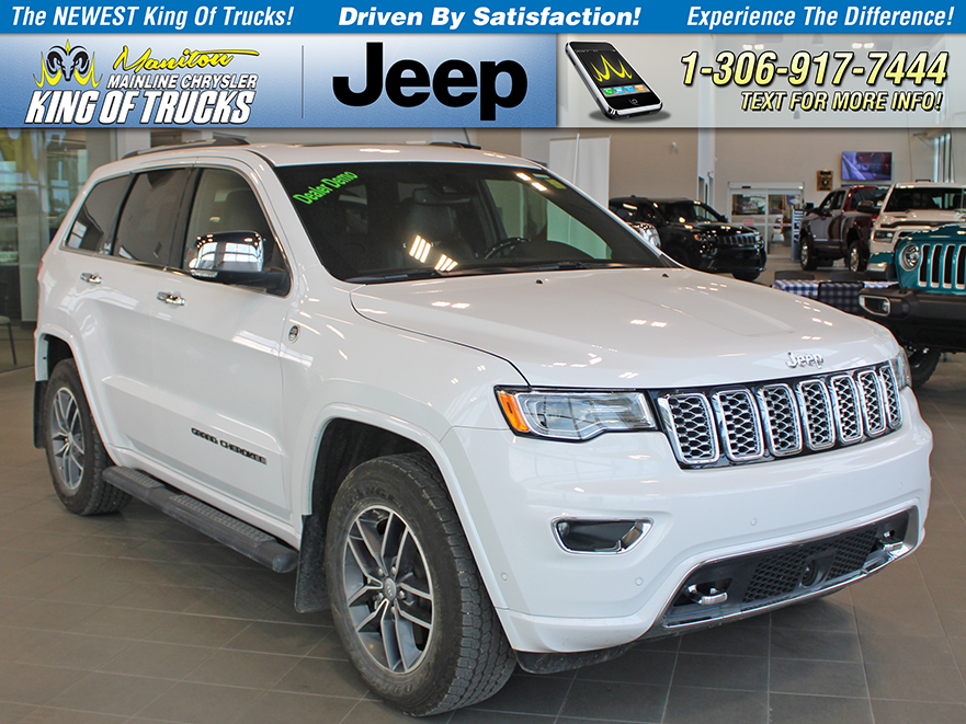 Pre-Owned 2018 Jeep Grand Cherokee Overland DEALER DEMO SPECIAL!