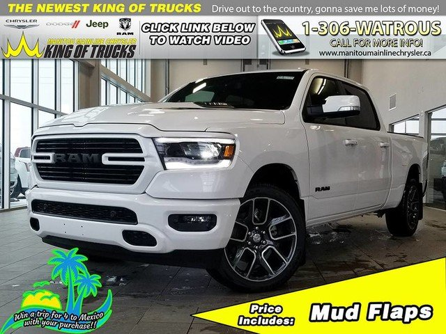 New 2019 Ram 1500 Sport R1961 For Sale In Watrous Sk