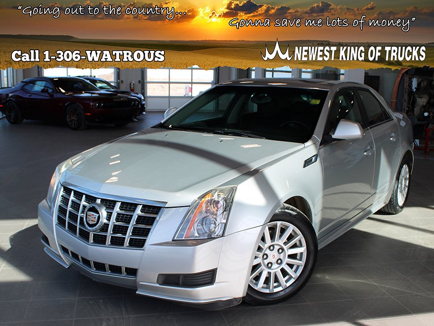 Pre-Owned 2012 Cadillac CTS Sedan Base