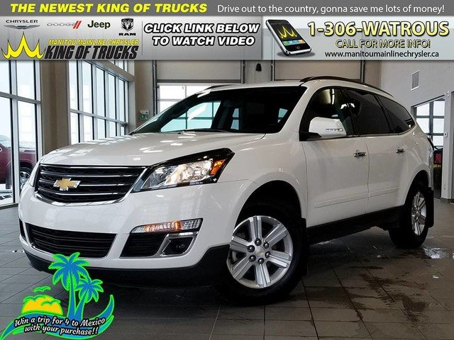 Pre-Owned 2014 Chevrolet Traverse 1LT