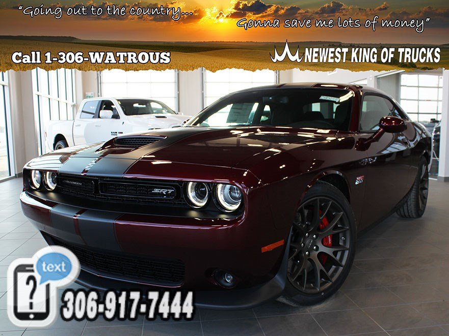 New 2018 Dodge Challenger SRT 392