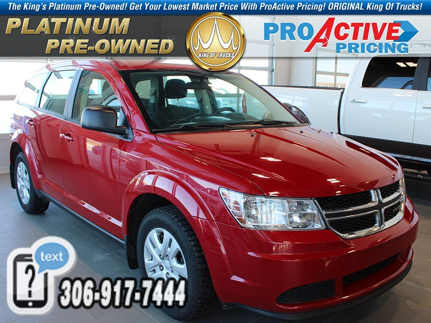 Pre-Owned 2016 Dodge Journey Canada Value Pkg