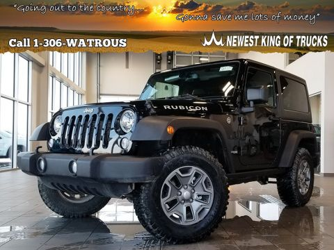 New 2018 Jeep Wrangler JK Rubicon